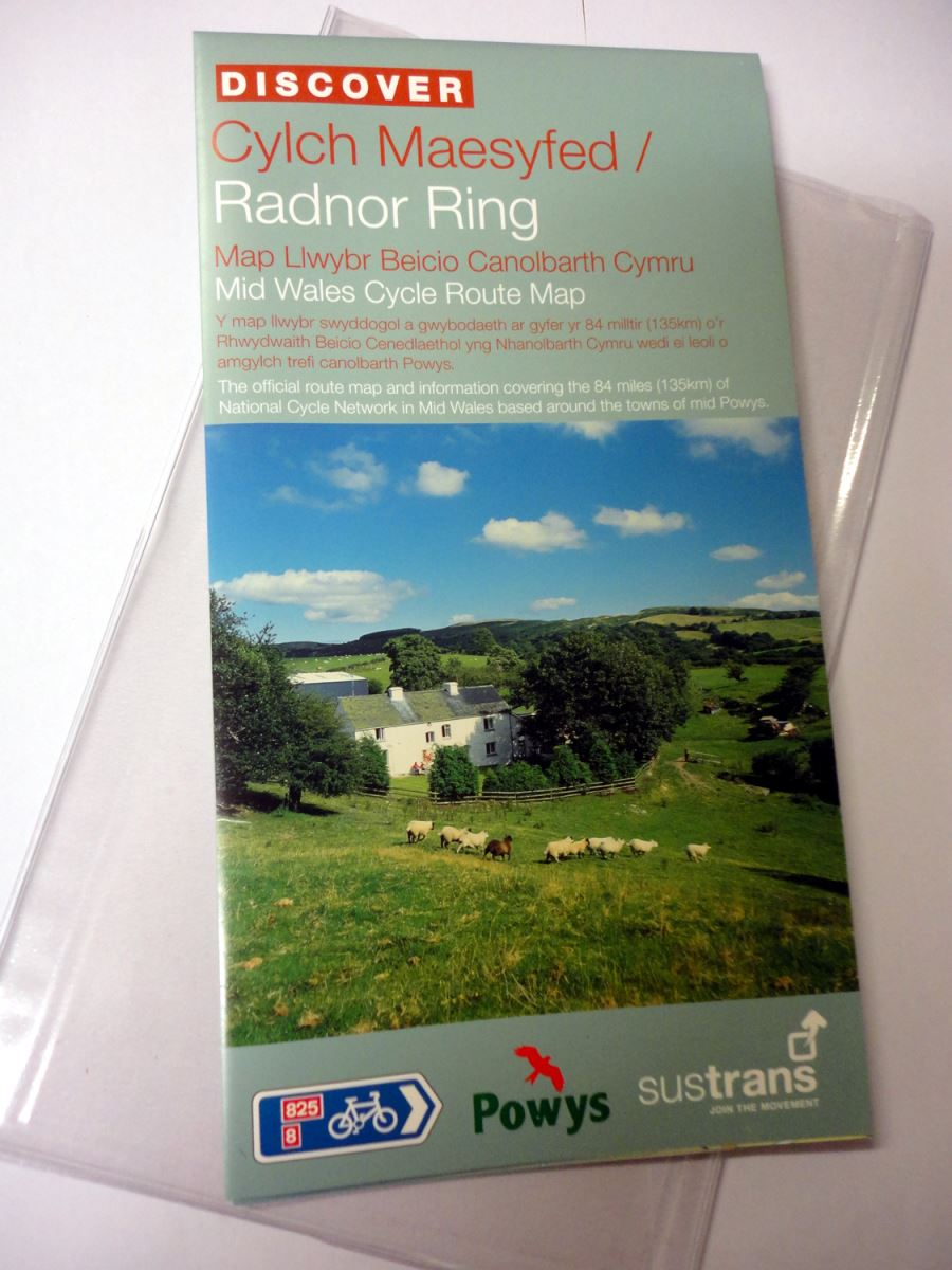 Radnor Ring - Mid Wales Cycle Route Map